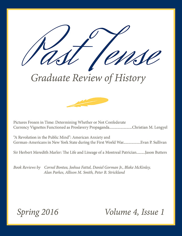 Past Tense Cover Vol4Iss1resized