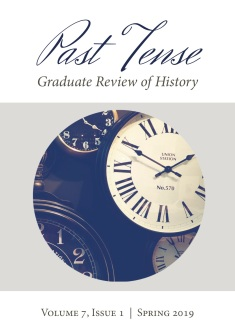 Past Tense Vol 7 Spring 2019 Cover